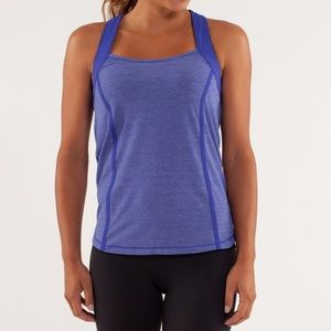 Lululemon Run: Team Spirit Tank Pigment Blue